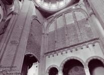1944: riparazioni provvisorie all'interno del santuario del Sacro Cuore
